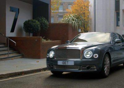 Detective's Bentley